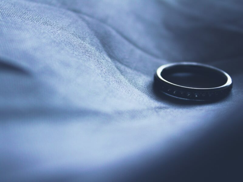 A wedding ring - dispelling common myths around divorce and finances