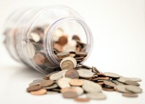 Money pot, a common area of contention during divorce